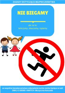 nie biegamy zasady zakaz biegania